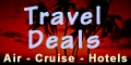 Travel deals - book now!